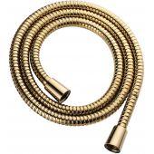 Omnires wąż prysznicowy 125 cm złoty 022-XGL