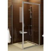 Ravak Blix Ścianka prysznicowa stała biel + transparent BLPS-80 9BH40100Z1