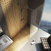 Ravak Walk-In ścianka prysznicowa 90 cm wolnostojąca GW9W70C00Z1