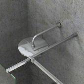 Ravak Walk-In Double Wall zestaw montażowy W SET-Uni połysk GWD01000A098