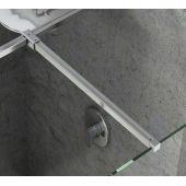 Ravak Walk-In Double Wall zestaw montażowy W SET-Uni T połysk GWD01000A099