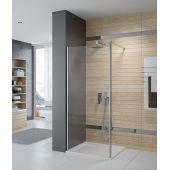 Sanplast Prestige III P/PRIII ścianka prysznicowa walk-in 90 cm srebrny błyszczący/szkło przezroczyste 600-073-1430-38-401