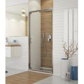 Sanplast TX drzwi prysznicowe 90 cm wnękowe DŁ/TX5b-90-S biW0 600-271-1220-01-401
