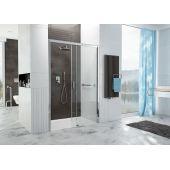 Sanplast Free Zone drzwi wnękowe 140 cm prawe D2P/FREEZONE-140-S biewW0 szkło przezroczyste 600-271-3200-38-401