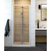 Sanplast Basic DD/BASIC drzwi prysznicowe 90 cm szkło przezroczyste 600-450-1930-01-400