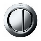 Geberit Typ01 przycisk uruchamiający WC pneumatyczny chrom błyszczący 116.050.21.1