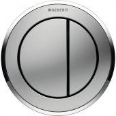 Geberit Typ10 przycisk spłukujący WC pneumatyczny chrom błyszczący 116.057.KN.1
