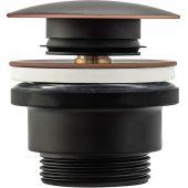 Rea Old Black korek do umywalki klik-klak czarny REA-A5218
