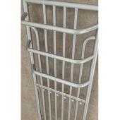 Imers Minas grzejnik łazienkowy 100x53 cm biały 0452