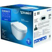Duravit Starck 3 miska WC wisząca z deską wolnoopadającą białą 42250900A1 (222509,006389)