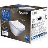 Duravit DuraStyle zestaw WC miska WC wisząca z deską wolnoopadającą 45520900A1 (255209,006379)