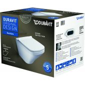 Duravit DuraStyle miska WC wisząca z deską wolnoopadającą białą 45520900A1 (255209,006379)