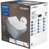 Duravit DuraStyle miska WC Rimless z deską myjącą SensoWash Slim białą 631001002004300