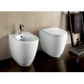 Hatria Fusion miska WC stojąca biała YXVD01