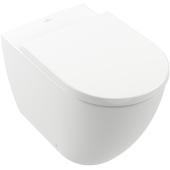 Villeroy & Boch Subway 3.0 miska WC stojąca bez kołnierza CeramicPlus Weiss Alpin 4671T0R1