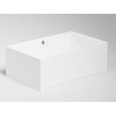 Excellent Izi System obudowa do wanny 190 cm czołowa biała OBEX.190.65WH