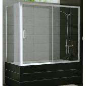 SanSwiss TOP-Line ścianka boczna 70 cm do parawanu nawannowego srebrny mat/szkło przezroczyste TOPV07000107