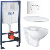 Zestaw Grohe Bau Ceramic 6 (39427000, 39493000, 39058000, 38858SH0)