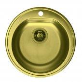 Alveus Monarch-Form 30 zlewozmywak satyna złoto 1070808