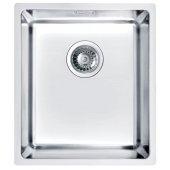 Alveus Kombino 20 zlewozmywak stalowy 34x40 cm 1-komorowy podwieszany satyna 1100234