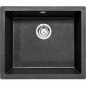 Deante Corda komora granitowa podblatowa 55x46 cm grafitowy metalik ZQAG10C