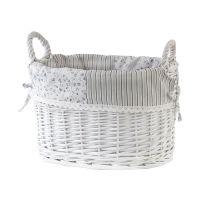 Awd Interior Provance koszyk wiklinowy biały AWD02240688