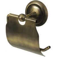 Bisk Deco uchwyt WC z klapką mosiądz 00403