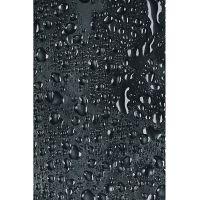 Duschy Water zasłona prysznicowa 200x180 cm czarna 627-87