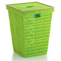 Kela Noblesse kosz na pranie tworzywo zielone KE-22607