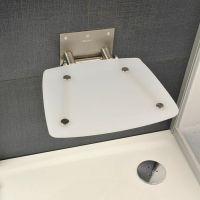 Ravak OVO-B siedzisko prysznicowe mleczne B8F0000016