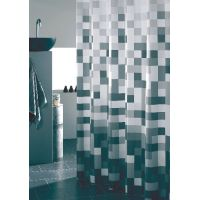Sealskin Pixel zasłona prysznicowa tekstylna 180 cm czarna 232651319