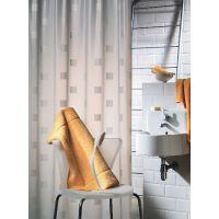 Sealskin Shadows zasłona prysznicowa PCV 180 cm white 211371310