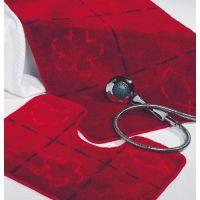 Sealskin Tack dywanik łazienkowy z wycięciem pod WC 60x45 cm rood 293278659