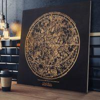 Smartwoods Celestial Atlas obraz 40x40 cm