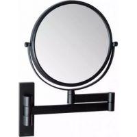 Stella lusterko kosmetyczne obrotowe czarny mat 22.01330-B