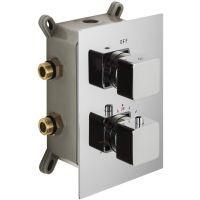 Corsan Adour bateria wannowo-prysznicowa podtynkowa termostatyczna chrom CMT01CHADOUR