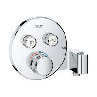 Grohe Grohtherm SmartControl bateria wannowo-prysznicowa podtynkowa termostatyczna ze zintegrowanym przyłączem chrom 29120000