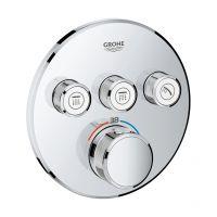 Grohe Grohtherm SmartControl bateria wannowo-prysznicowa podtynkowa termostatyczna chrom 29121000