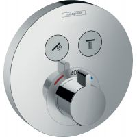 Hansgrohe ShowerSelect S bateria wannowo-prysznicowa podtynkowa termostatyczna chrom 15743000