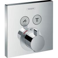 Hansgrohe ShowerSelect bateria wannowo-prysznicowa podtynkowa termostatyczna chrom 15763000