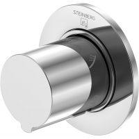 Steinberg 100 przełącznik podtynkowy trójdrożny chrom 10043721