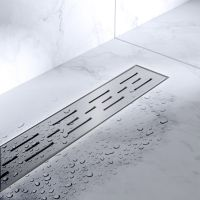 Bravat Line Steel odpływ liniowy 60 cm LINESTEELDRAIN60
