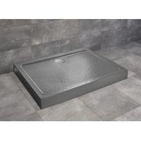 Radaway Doros D Compact brodzik prostokątny 100x80 cm stone antracyt SDRD1080-05-64S