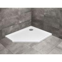 Radaway Doros PT E brodzik prysznicowy 100x90 cm prawy biały SDRPT1090-01R