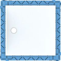Geberit Setaplano panel do natrysków bezbrodzikowych 120x120 cm biały 154.290.11.1