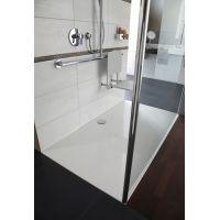 Hüppe EasyStep brodzik prostokątny 120x80 cm biały 215014.055