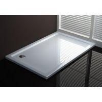 Rea Porta brodzik prostokątny 100x80 cm lewy biały REA-K090B