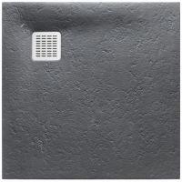Roca Terran brodzik 90 cm kwadratowy szary łupek AP0338438401200