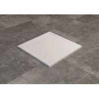 SanSwiss Livada brodzik kwadratowy 100 cm biały W20Q10004