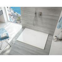 Sanplast Open Mineral brodzik prostokątny 120x80 cm biały 645-430-0350-01-000